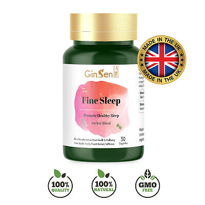 Herbal Deep Sleep Aid Tablet Help Insomnia Stress Anxiety Depression Non Drowsy • 10.67£