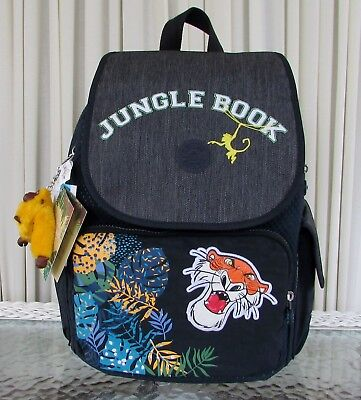 £77.84 • Buy Kipling Disney The Jungle Book City Pack Into The Jungle Backpack Travel Bag NWT