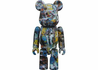 $99.99 • Buy Jackson Pollock 100% Bearbrick 2018 Medicom Toy Be@rbrick Japan Limited Rare