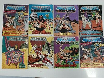 $54.88 • Buy Vintage Masters Of The Universe Mini Comics - Lot Of 8