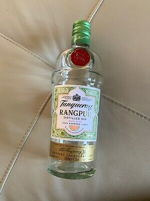 Tanqueray RANGPUR Empty Gin Bottle/ Clear Glass/ 70cl/ Wedding Craft/ Upcycling • 2.99£