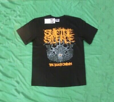 £15.57 • Buy Suicide Silence The Black Crown XL T-shirt
