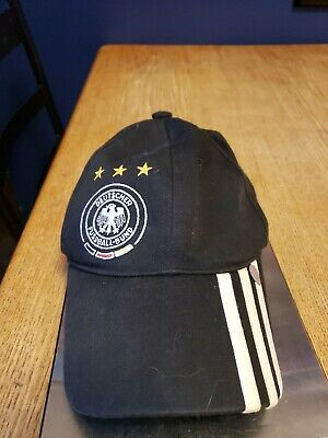 Adidas Germany National Soccer Team Men's Adjustable Strap Baseball Cap HatYouth • 5.73£