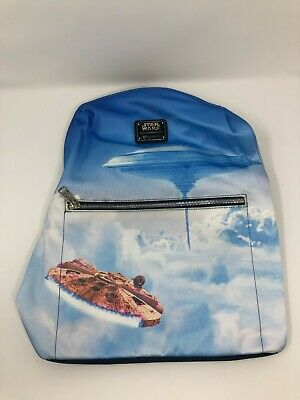 £35.45 • Buy NWT Loungefly Star Wars Millennium Falcon Cloud City Backpack Rucksack Bag Tote