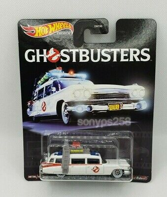 GHOSTBUSTERS ECTO 1 Hot Wheels 1/64 Diecast Model GJR39 GM Ecto-1 • 13.74£
