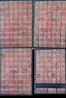 AU118.96 • Buy Australia KGV 1d Penny Red Shades Bulk Lot X 245 Stamps Fine Used