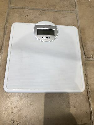 Salter Digital Bathroom Weighing Scales White • 7£