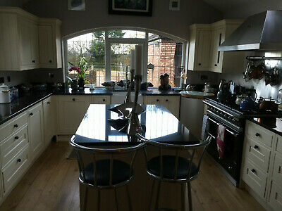 Used Cooke & Lewis Woburn Fitted Kitchen With Stunning Black Granite Tops • 2,500£