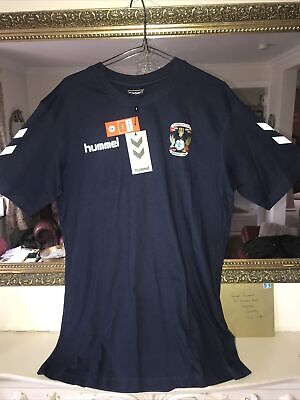 """£19.99 • Buy COVENTRY CITY FC """"SMART HUMMEL Cotton T-shirt Size LARGE BNWT"""