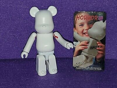 $25 • Buy Bearbrick 100% Horror Nagi With Card Be@rbrick Series 8 Medicom Toy Figure