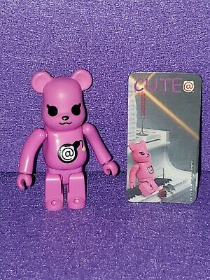 $45 • Buy Bearbrick 100% Cute Pink Bomb With Card Be@rbrick Series 3 Medicom Toy Figure