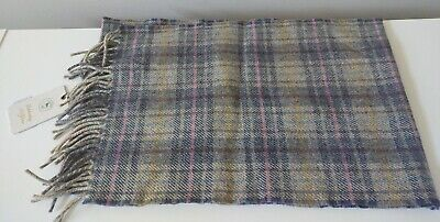 $14.99 • Buy Magee Handwoven Men's Extra Long Plaid Scarf--68.5  X 10