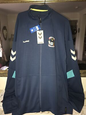 £29.99 • Buy COVENTRY CITY FC FOOTBALL TECH MOVE POLY ZIP JACKET Size L (£45) BNWT