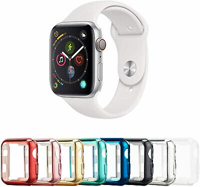 $ CDN10.09 • Buy 2 Pack For Apple Watch Series 4/5/6/SE 40/44mm Screen Protector Case Full Cover