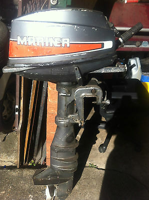 AU75 • Buy Outboard Motor Mariner 8hp Not Working Seized Selling Parts Sale For Cowling