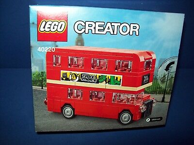 $ CDN41.47 • Buy LEGO 40220 London Double Decker Bus New In Factory Sealed Box NISB Exclusive