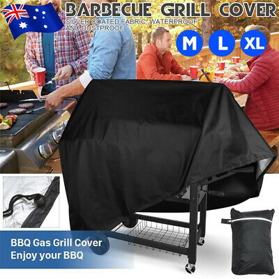 AU20.59 • Buy BBQ Cover 2/4/6 Burner Outdoor Gas Charcoal Barbecue Grill Protector Waterproof