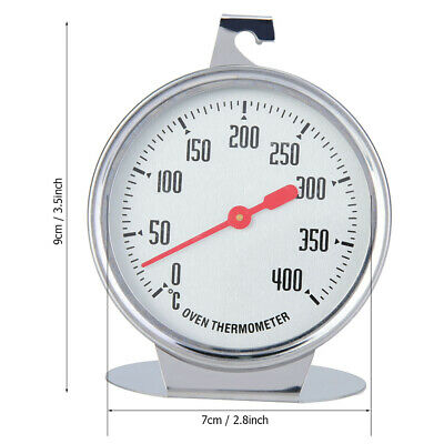 £3.23 • Buy Stand Up Dial Oven Thermometer Stainless Steel Large Gage Kitchen Baking Supp GS