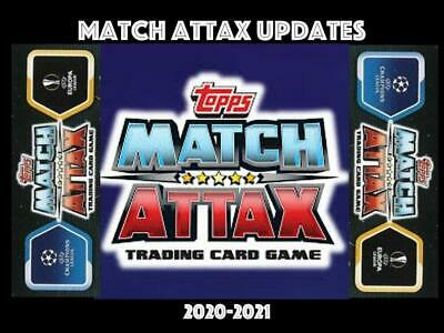 AU2.22 • Buy Match Attax Updates 2020/2021 20/21 Choose Your Card