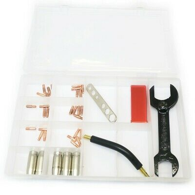 Hobby Mig Spare Parts Kit M5 Tips,35mm Gas Nozzle, M8 8.0mm Neck Threaded (A40) • 47.50£