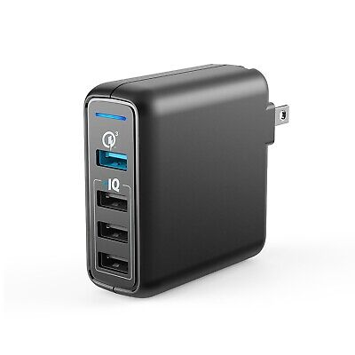 AU29.65 • Buy Anker PowerPort Speed 4 Wall Charger - Black - BRAND NEW SEALED Quick Charge 3.0