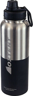 £23.84 • Buy Oztent Alpine 1180ml Stainless Vacuum Insulated Bottle Silver/Black