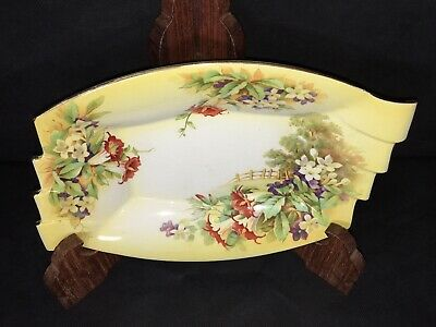 $ CDN14.99 • Buy Royal Winton / Grimwades TRAY Bright Yellow W/ Floral Scene Made In England