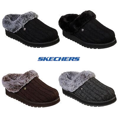 Skechers Womens Bobs Keepsake Ice Angel Slippers Soft Memory Foam Comfort Clogs  • 39.90£