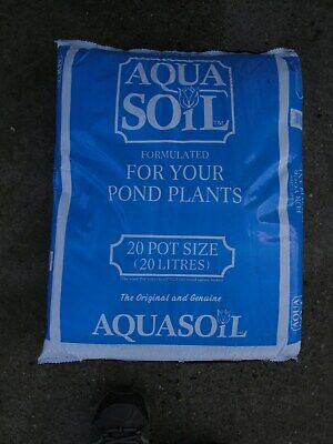 20 Litres Aquatic Soil Compost For Pond Plants In Baskets And Containers • 14.50£