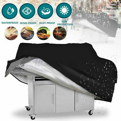 AU19.39 • Buy 2/4/6 Burner BBQ Cover Waterproof Outdoor Gas Charcoal Barbecue Grill Protector