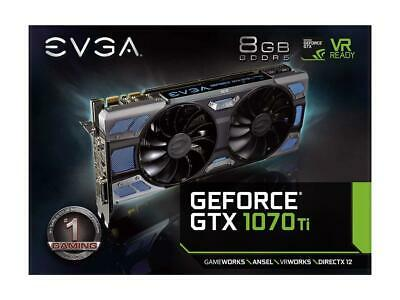 $ CDN667.06 • Buy Evga Geforce Gtx 1070 Ftw2 Ti Icx Gpu 8gb Gaming Graphics Video Card