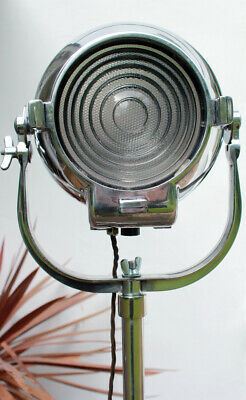 Vintage Strand Electric 23 Or 123 Theatre Stage Film Floor Light Lamp Tri Stand • 395£