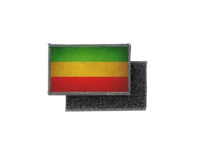 Patch Printed Badge Vintage Flag Rasta Reggae • 4.01£