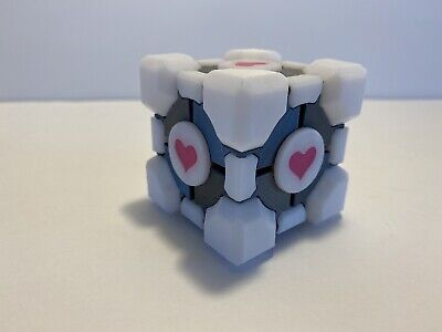 £14.62 • Buy Portal Companion Cube Cosplay Roleplaying RP Portal 2 Cosplay