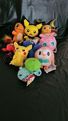 AU10 • Buy POKEMON Plush Toys, 9 Different Characters To Pick, 18-20cm Official With Tags.