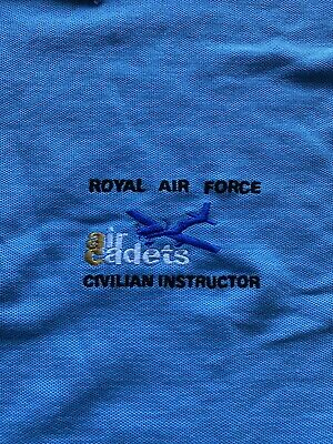 Royal Air Force Air Cadets Civvy Instructor Polo Shirt • 12£