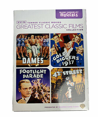£18.18 • Buy TCM Greatest Classic Films Collection: Busby Berkeley Musicals (DVD, 2010) NEW