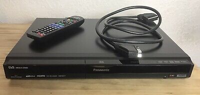 Panasonic Dvd Recorder Dmr-ex77eb-k With Remote For Recording To Dvd Working Vgc • 59.99£