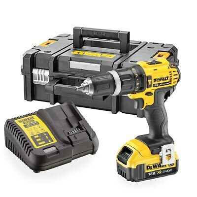 DeWalt DCD785M1 XR 2 Speed Combi Drill 18V Kit 1 X 4.0Ah Li-ion In TSTAK Kitbox • 148.95£