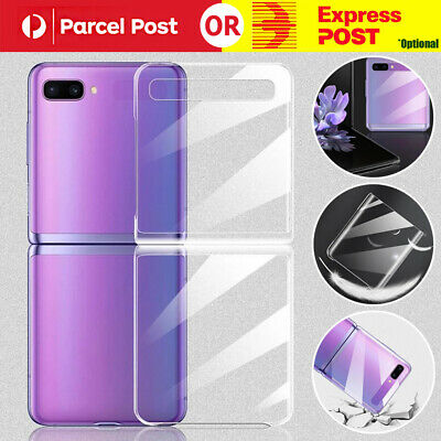AU9.59 • Buy For Samsung Galaxy Z Flip 5G Case Shockproof Rugged Clear Slim Protective Cover