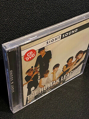The Human League - Greatest Hits On CD + DVD - Sight And Sound - New + Sealed • 11.75£