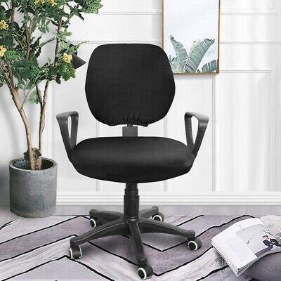 AU13.57 • Buy Office Chair Cover Seat Cover Case Home Computer Desk Stretch Washable Removable