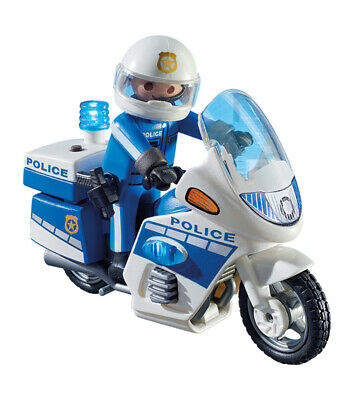 Playmobil Police Bike With LED Light • 18.20£