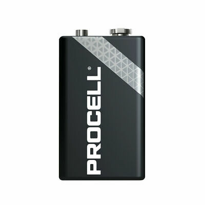 Duracell Procell 9 V Block Alkaline Battery PP3 6LR61 MN1604 Smoke Alarm - Packs • 7.19£