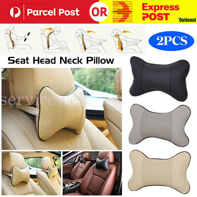 AU16.96 • Buy Auto Car Seat Head Neck Rest Support Cushion Pad Travel Comfort Headrest Pillow