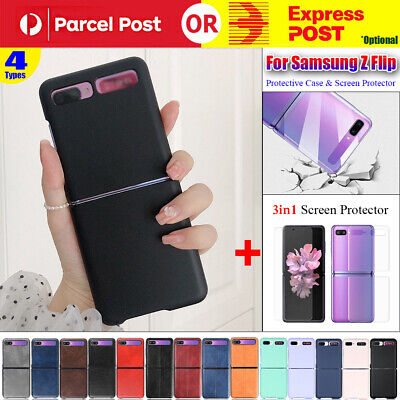 AU13.99 • Buy Shockproof Case Slim Cover + 3in1 Screen Protector For Samsung Galaxy Z Flip 5G