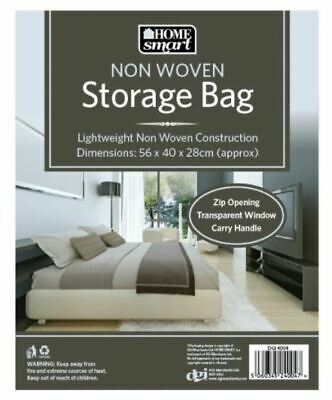 Foldable Non Woven Under Bed Storage Bag - Grey - Small - 56X40X28 CM • 2.95£
