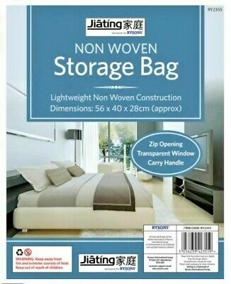 Foldable Non Woven Under Bed Storage Bag Small Medium Large • 3.45£