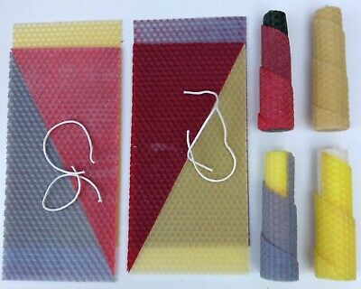 £9.99 • Buy Beeswax Candle Making Kit: 4 X Twist Free Video Tutorial (See Item Description)