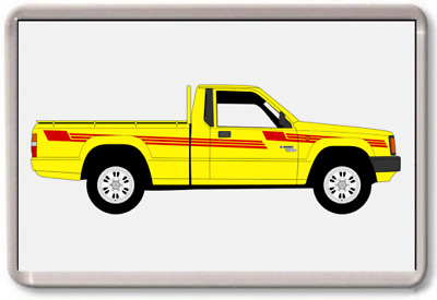 AU2.76 • Buy FRIDGE MAGNET - MITSUBISHI TRITON L200 - - GRAPHIC CAR ART - Large